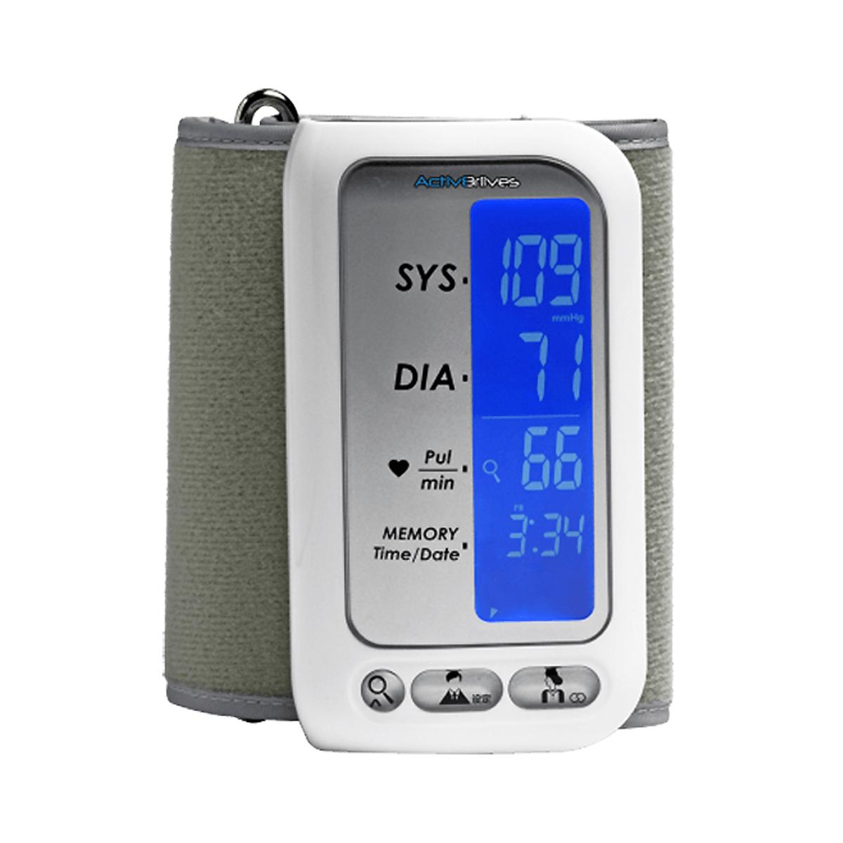 Advanced Upper Arm Blood Pressure Monitor (4)