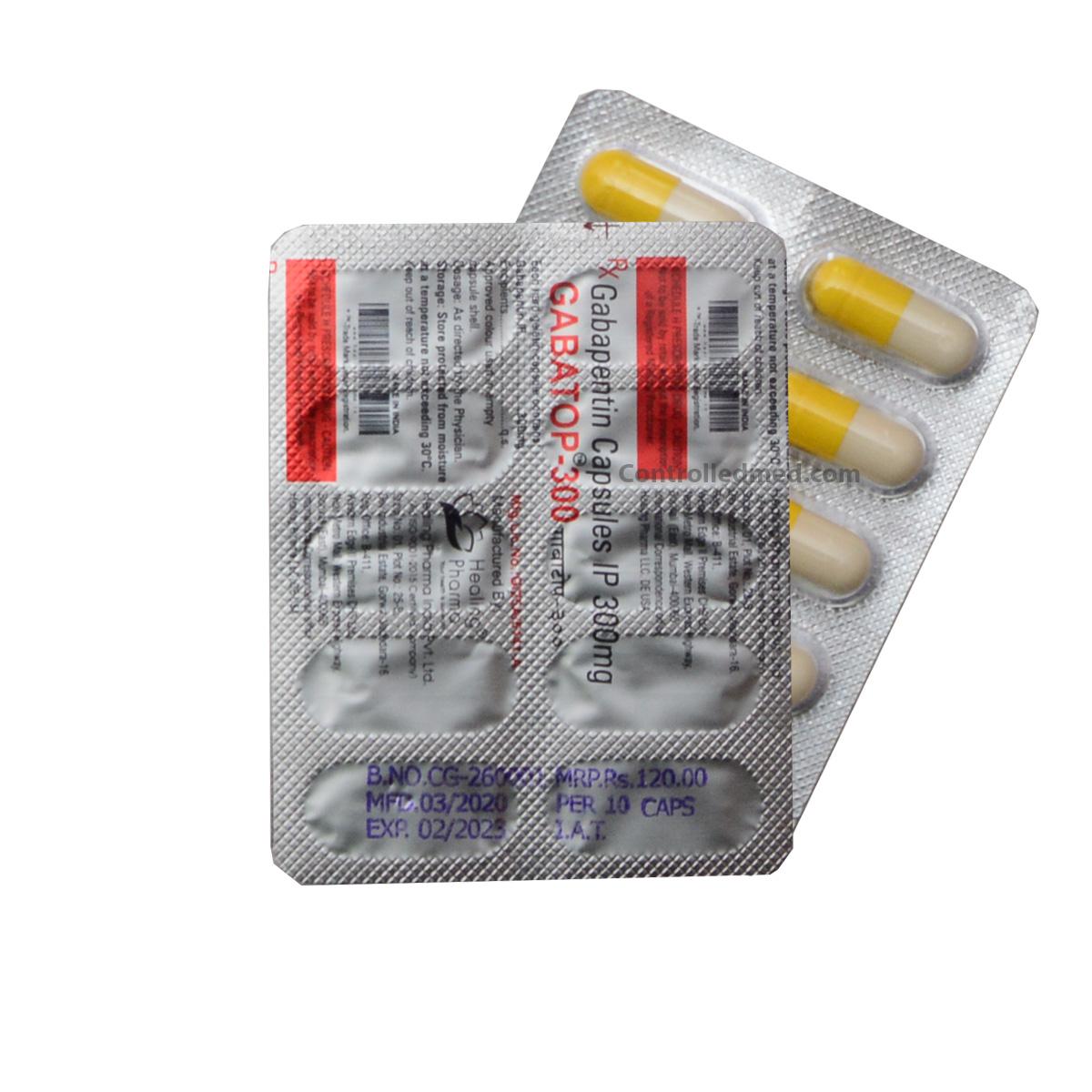 buy Gabapentin Gabatop 600mg capsule